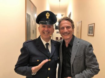 Festa Polizia con Mimì Augello